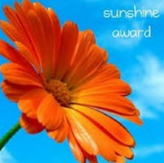 The Sunshine Award 2012